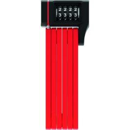 ABUS Bordo uGrip 5700C/80 hajtogatós lakat - piros SH tartóval