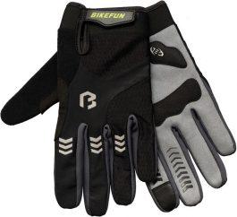 Bikefun Controll hosszú ujjú kesztyű - szürke - S