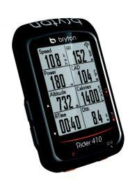 Bryton Rider 410T GPS computer szett - fekete