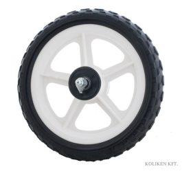 Koliken műanyag kerék hátsó - fekete - 12