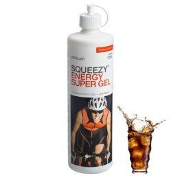 SQUEEZY ENERGY SUPER GEL energia zselé - kóla/koffein (500ml)