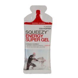 SQUEEZY ENERGY SUPER GEL energia zselé - kóla/koffein (33g)