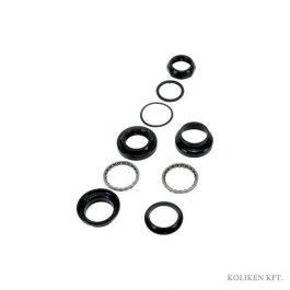 Neco kormányfej készlet acél - fekete - 22,2 mm