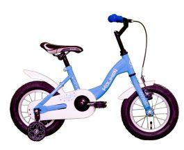 Koliken Flyer 12 gyermek kerékpár - kék (műanyag sárvédő)