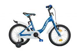 Koliken Flyer 16 gyerek kerékpár - kék (Műanyag sárvédővel)
