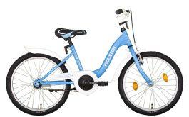 Koliken FLYER 20 gyermek kerékpár - kék (Műanyag sárvédővel)
