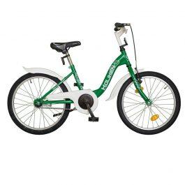 Koliken TRAKI 20 gyermek kerékpár - zöld (Műanyag sárvédővel)