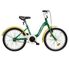 Koliken Traki 20 gyermek kerékpár - zöld (Fém sárvédővel)