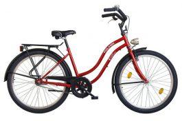 Koliken Cruiser 26 női cruiser kerékpár - bordó