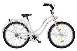 """Koliken Cruiser túra 26"""" női kerékpár - fehér"""
