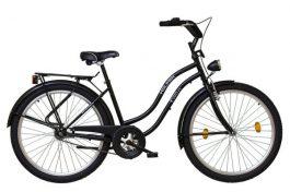 "Koliken CRUISER 26"" túra női kerékpár - fekete (black)"