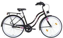 Koliken CRUISER ALU női cruiser kerékpár - fekete