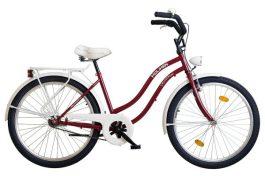 Koliken Cruiser Komfort N3 Cosmo 26 női cruiser kerékpár - bordó