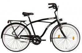 Koliken Cruiser Túra 26 férfi cruiser kerékpár - fekete