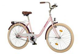 Koliken Feliz Túra női 26 városi kerékpár - ciklámen