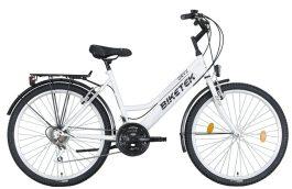 Biketek Oryx ATB női városi kerékpár - fehér