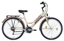 """BIKETEK ORYX ATB női 26"""" városi kerékpár - bézs"""