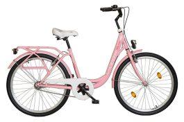 """Koliken Ocean női 26"""" városi kerékpár - ciklámen"""