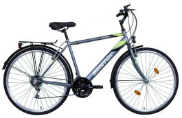 Biketek MAXWELL férfi trekking kerékpár - grafit