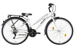 """Koliken GISU Tracking RS35 28"""" 18 sebességes női kerékpár - fehér"""