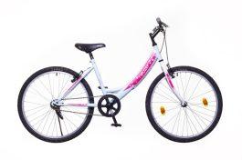 Neuzer CINDY 24 1S lány kerékpár - babyblue/fehér