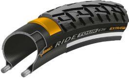 Continental RIDE Tour 37-622 28x1 3/8x1 5/8 gumiabroncs kerékpárhoz - fekete/fekete, reflektoros