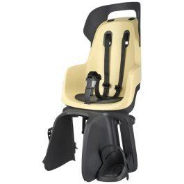 Bobike GO Maxi gyerekülés csomagtartóra - sárga