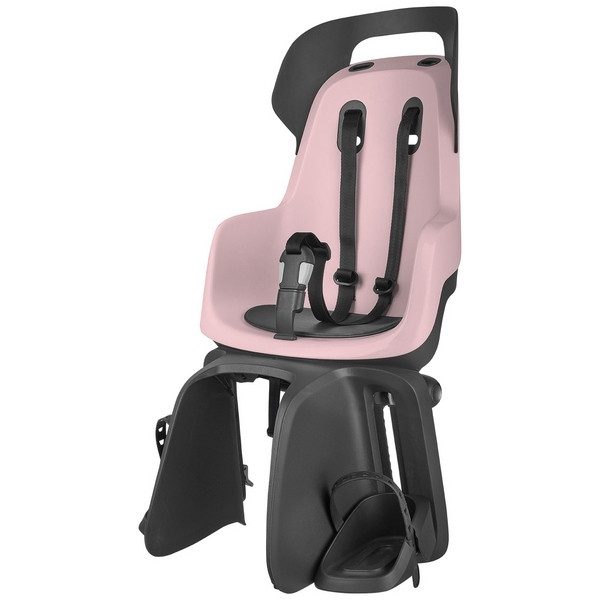 Bobike GO Maxi gyerekülés csomagtartóra - rózsaszín