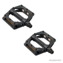 Wellgo FIXI műanyag pedál - fekete