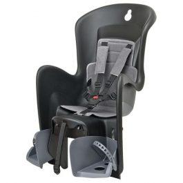 Polisport Bilby Maxi CFS gyerekülés csomagtartóra - fekete/sötétszürke