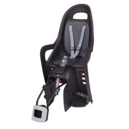Polisport Groovy RS Plus konzolos gyerekülés - fekete/sötétszürke