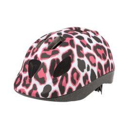 Polisport PINKY CHHETAH gyerek sisak - fehér/pink (46-53 cm)