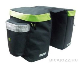 Bikefun Bundle túratáska - fekete/zöld - 25l