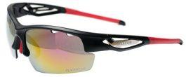 BIKEFUN FLY szemüveg - fekete/piros +2 pár extra lencse