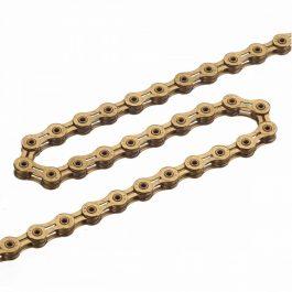 KMC X10 SL 1/2x1/128 112L lánc - arany (gold)