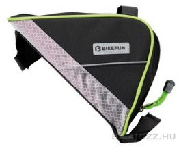 Bikefun Triangle váztáska - fekete/zöld