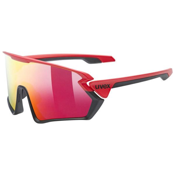 UVEX SPORTSTYLE 231 sportszemüveg - red/black mat