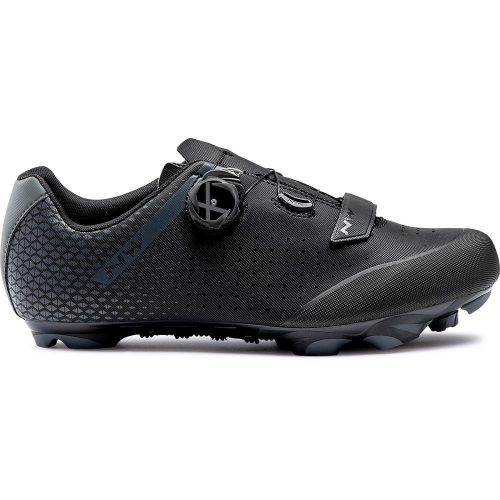 Northwave ORIGIN PLUS 2 WIDE MTB cipő - fekete/antracit - 45.5