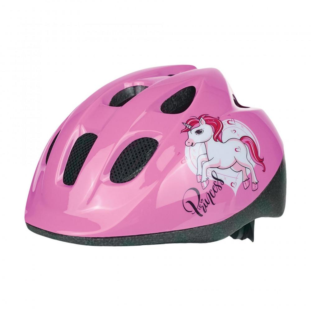 Polisport JUNIOR gyerek sisak - unicorn/pink (52-56 cm)
